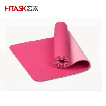 宏太HTASK TPE双面颜色瑜伽垫HT-01TY颜色随机 需要指定请备注