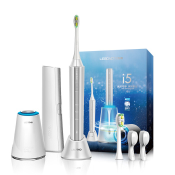 力博得(Lebond)電動牙刷 I5 智能自清潔抗菌聲波電動牙刷標配2個刷頭