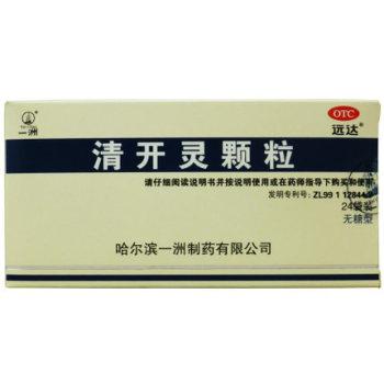 一洲清开灵颗粒(无糖型)1.5g*24袋