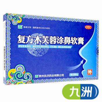 良济复方木芙蓉涂鼻软膏2g 流感感冒鼻塞流涕打喷嚏