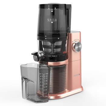 惠人四代機一體式接渣杯全自動榨汁機H-AI-RGBI20 玫瑰金