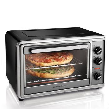 汉美驰电烤箱 32L多功能大容量旋转烤叉烘焙 31104-CN