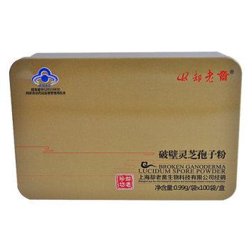 却老斋 破壁灵芝孢子粉 0.99g/袋*100袋/盒