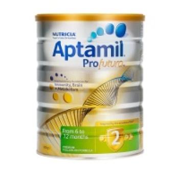保税区直发 新西兰Aptamil白金版婴幼儿配方奶粉 2段(6-12个月)900g