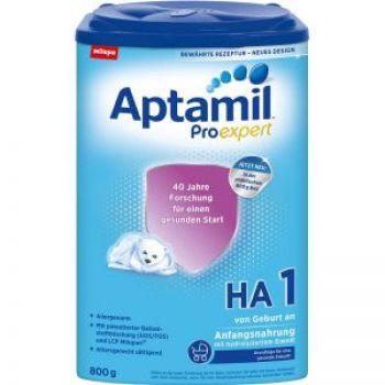 保税区直发 德国Aptamil爱他美HA奶粉1段(0-6个月)800g