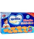 保税区直发 意大利Mellin美林婴儿辅食磨牙棒饼干动物造型360g