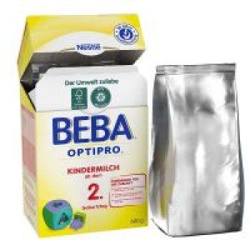保税区直发 德国Nestl�雀巢BEBA贝巴成长奶粉2+段(2岁以上)600g
