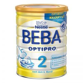 保税区直发 德国Nestl�雀巢BEBA贝巴婴幼儿奶粉2段(6-10个月)800g