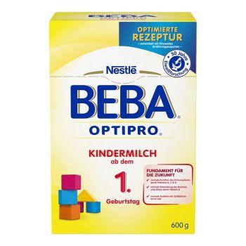 保税区直发 德国Nestl�雀巢BEBA贝巴成长奶粉1+段(12-24个月)600g