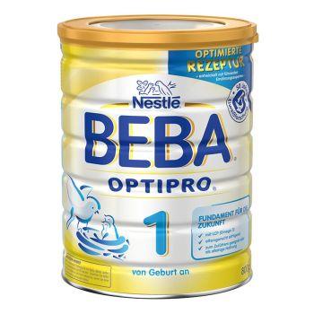 保税区直发 德国Nestl�雀巢BEBA贝巴婴幼儿奶粉1段(0-6个月)800g