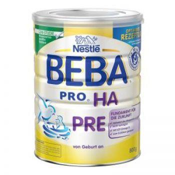 保税区直发 德国Nestl�雀巢BEBA贝巴适度水解奶粉Pre段(0-3个月)800g