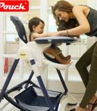 帛琦/Pouch多功能儿童餐椅可坐可躺 K05(皮质款)