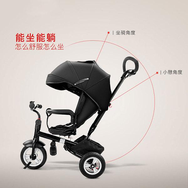 帛琦/Pouch三轮车手推车脚踏车婴儿伞车B06