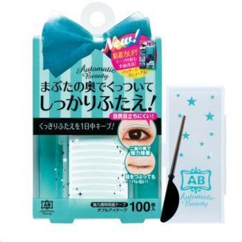 日本Automatic Beauty(强力版)隐形塑眼双面贴 100枚