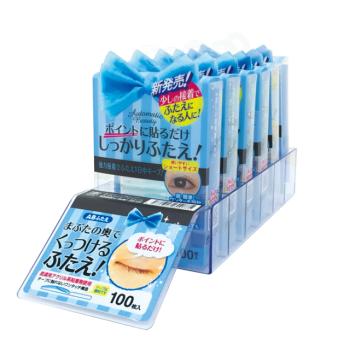 日本Automatic Beauty (强力版)局部隐形塑眼双面贴 100枚