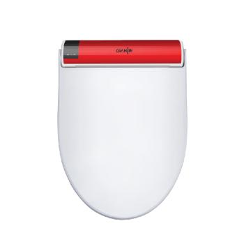 韩国点洁原装进口高端智能马桶盖-红色DJ-808