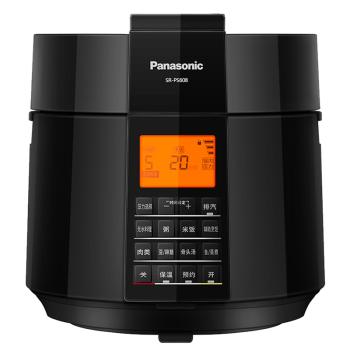 松下 SR-PS608 人工智能电压力锅 家用压力煲无水料理 6L电压力锅