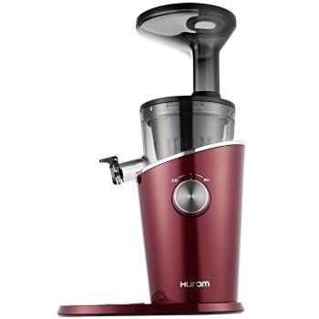 惠人H-100-DWBIA01 原汁机创新无网快洗低速榨汁机 酒红色
