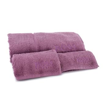 HUGO BOSS PLAN毛浴巾三件套(红色) MYJ-006-3