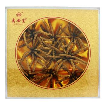 壽安堂冬蟲夏草|精選3000條30克/盒|浙江佐力百草中藥飲片有限公司