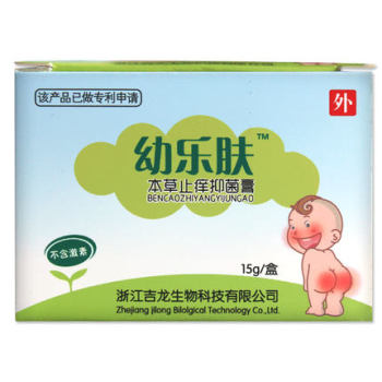 幼樂膚本草止癢抑菌膏15g