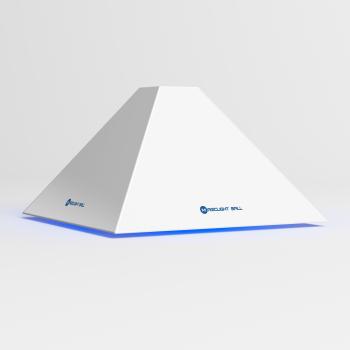 魔光球车载空气净化器金字塔