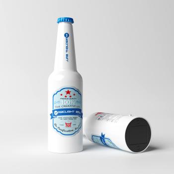 魔光球车载空气净化器啤酒A