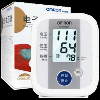 歐姆龍上臂式電子血壓計8102K