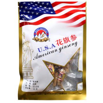 寿安堂花旗参50g 5克短枝 美国进口