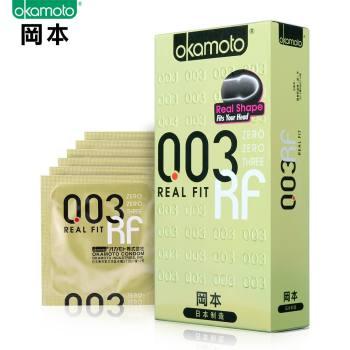 冈本003黄金贴身超薄避孕套6片装
