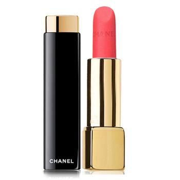Chanel香奈儿 炫亮魅力唇膏丝绒系列 (43#亲爱)3.5g 珊瑚红