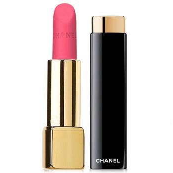 Chanel香奈儿 炫亮魅力唇膏丝绒系列 (42#显眼)3.5g 荧光粉