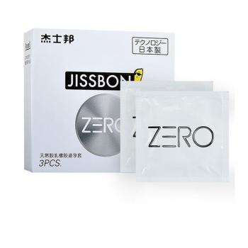 杰士邦ZERO零感超薄中的超薄避孕套3只装