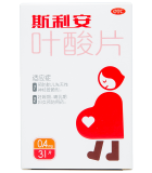 斯利安叶酸片0.4mg*31片