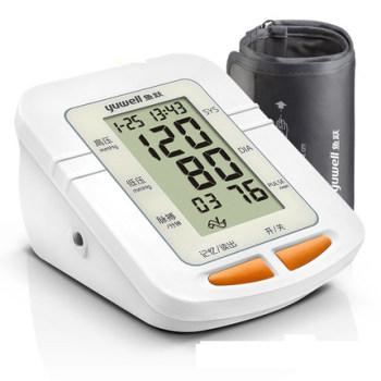 魚躍血壓計YE-660C家用上臂式血壓儀全自動血壓儀器