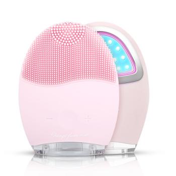 MKS美克斯 硅膠潔面儀毛孔清潔器 洗臉美容儀NV8290