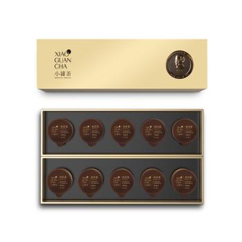 小罐茶特级黑茶云南普洱茶礼盒40g