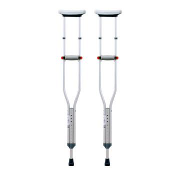 可孚腋下拐杖双拐防滑腋下拐老人医用残疾人拐棍老年捌杖骨一对装