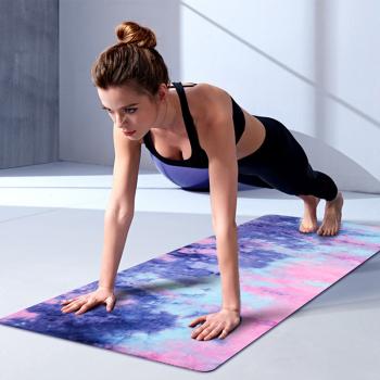 宏太HTASK 麂皮绒TPE材质健身瑜伽垫送收纳袋 HT-02YT