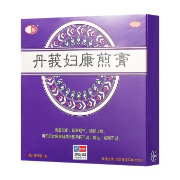滇虹丹莪妇康煎膏15g*6袋