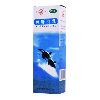 双鲸鱼肝油乳500ml