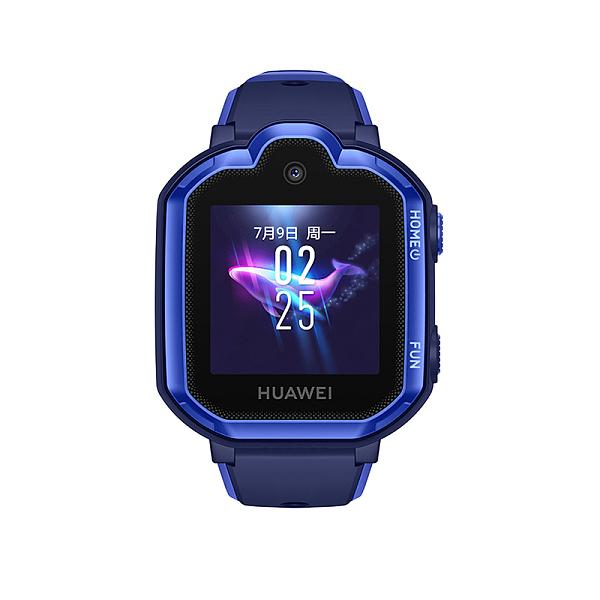 华为儿童手表3Pro 九重定位4G通话极光蓝