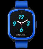華為兒童手表3藍配黑硅膠表帶極光藍