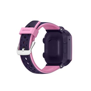 华为儿童手表3Pro 九重定位4G通话星云粉