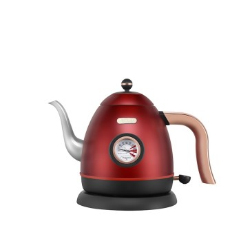 诺斯凯其电热水壶 家用办公室复古0.8L烧水壶 NS-E6F