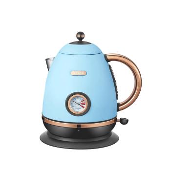 諾斯凱其電熱水壺 家用辦公室1.2L帶溫度計 NS-E5B