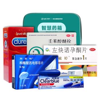 【智慧藥箱】性福生活套餐 緊急避孕 功能性障礙治療