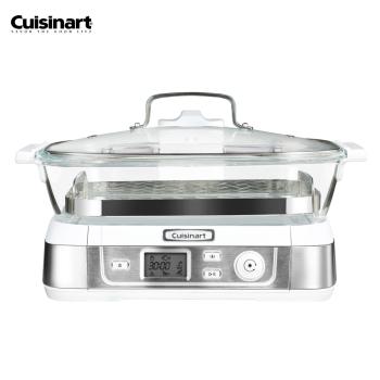 Cuisinart/美膳雅 電蒸鍋多功能智能玻璃大容量蒸鮮鍋