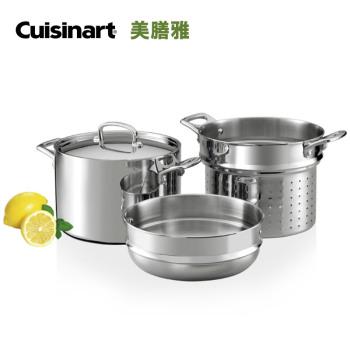 Cuisinart/美膳雅 不銹鋼蒸鍋 FCT66-24CN