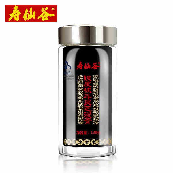 寿仙谷铁皮枫斗灵芝浸膏130g